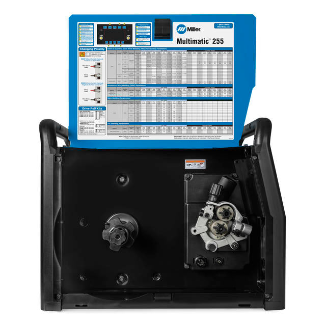 Miller Multimatic 255 Multiprocess Welder 907728 Side view