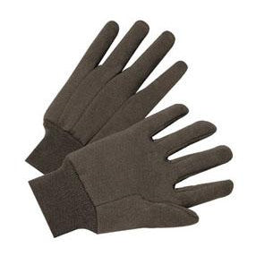Best Welds Brown Jersey Cotton Gloves - 12/case - 1200