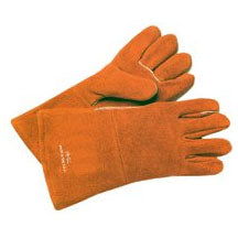 Best Welds Russet Split Cowhide Welding Gloves 18GC - Large - Pack of 12 - 18GC