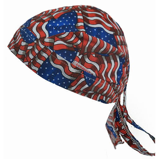 One Size fits Most Blue Demon Arc-Chill Do-Rag