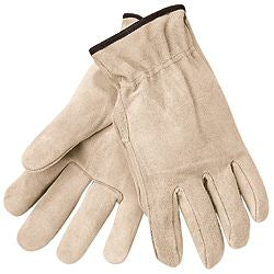 MCR Safety - Premium Grade Split Leather Drivers Straight Thumb Gloves - 3100