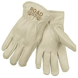 MCR Safety - Road Hustler Gloves Cow Leather Drivers Keystone Thumb - 12/pr pack - 3200