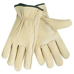 MCR Safety - Select Grade Grain Cow Leather Drivers Gloves, 12/Pack - 3211