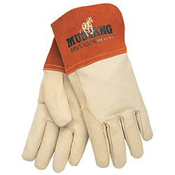 MCR Safety Mustang Mig/Tig Welding Gloves Grain Cow Leather 12/Pack - 4950