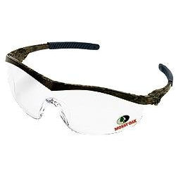 MCR Safety - Crews Mossy Oak Forest Floor Safety Glasses - Ratchcet Camo Frame - MO110