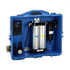 3M Portable Compressed Air Filter and Regulator Panel w/ CO Filtration and Monitor - 256-02-00