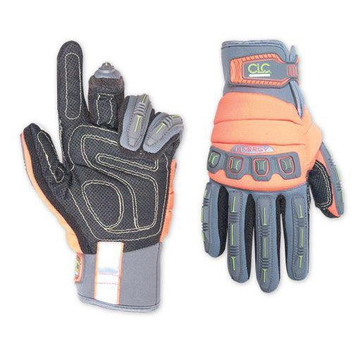 CLC Energy Flex Grip Work Gloves, Large - Model 165 - 165L