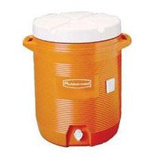 Rubbermaid - 10 Gallon Water Cooler - Orange - 1610-01-11