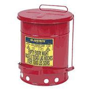 Justrite - Oily Waste Can -  6 Gallon - 09100