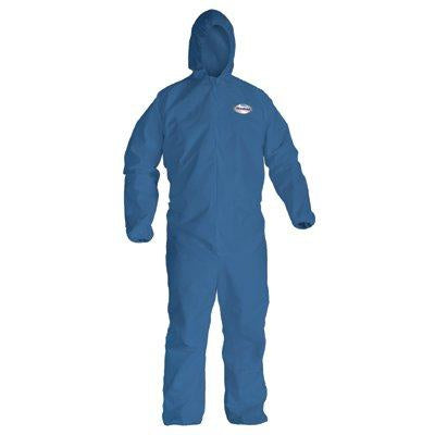 Kimberly-Clark KleenGuard A20 Particle Protection Coveralls Elastic & Hood 24/Case - 58512