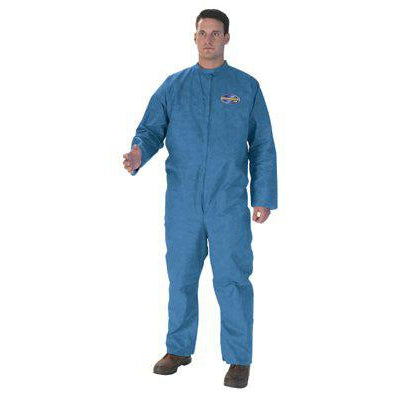 Kimberly-Clark KleenGuard A20 Particle Protection Coveralls Zipper Front 24/Case - 58532