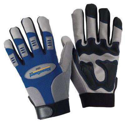 Kimberly-Clark KleenGuard G50 Mechanics Gloves w/Palm & Finger Protection - 90266