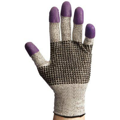 Kimberly-Clark KleenGuard G60 Cut Resistant Gloves Purple Nitrile - 97430