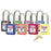 Master Lock - Non-Conductive Lockout Padlock 6 Pin - Green 6/Box - 410GRN