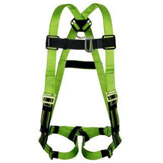 Sperian - Miller DuraFlex Python Harness - Back D-Ring and Tongue Leg Buckles - P950-4/UGN