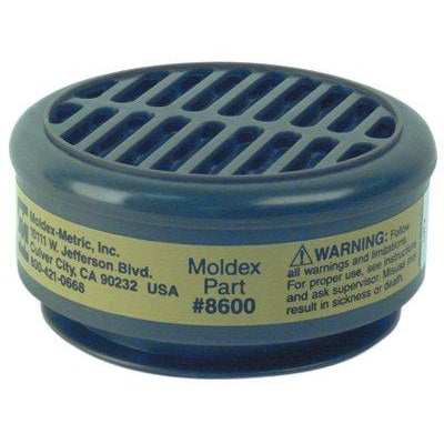 Moldex 8600 Multi-Gas/Vapor Smart Resistant Cartridges - 8600