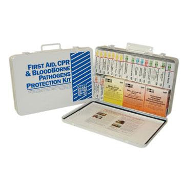 Pac-Kit - 36 Unit First Aid CPR BloodBorne Pathogens Protection Kit - 5499