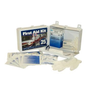 Pac-Kit - #25 Steel (non-gasketed) Kit w/ XL Wound Compress - 6086