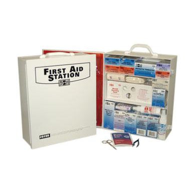 Pac-Kit - 3-Shelf Industrial First Aid Station - 6155