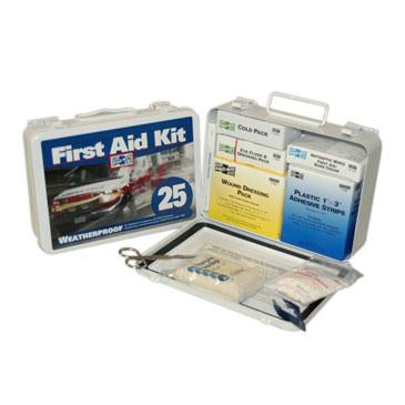 Pac-Kit - #25 Vehicle First Aid Kit w/ Eyewash - 6420