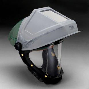3M Hardhat with Welding Shield and Wide-view Faceshield - L-705SG-F