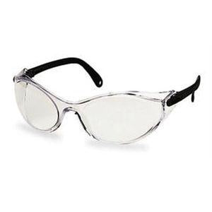 Sperian - Uvex Bandido Safety Eyewear - Black Frame / Clear Ultra-Dura Lens - S1730