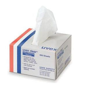 Sperian - Uvex Clear Lens Cleaning Tissues - 500/box - S462