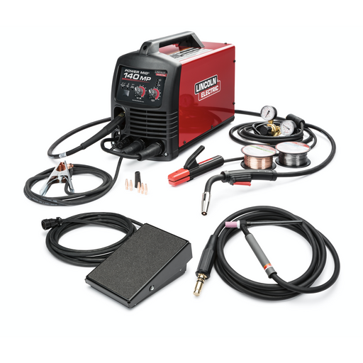 Power MIG 140MP Multi-Process Welder TIG One-Pak