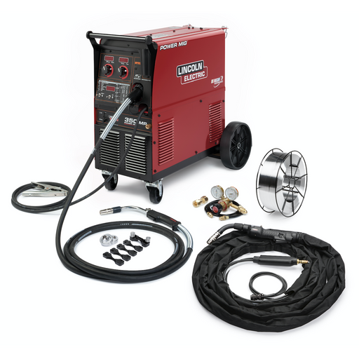 Lincoln Power MIG 350MP MIG Welder Aluminum One-Pak