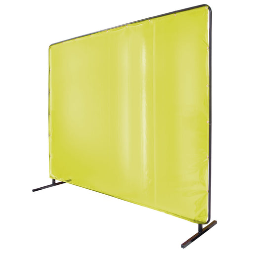 Black Stallion 14 MIL 2-Panel Welding Screen and QuickFrame Set