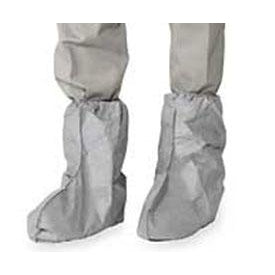 "Dupont Tyvek Boot Covers w/ Serged Seams, 18"", 100/Case - FC454S"