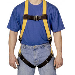 Sperian Miller Titan Full Body Harness Non-Stretch Webbing - T4000/UAK