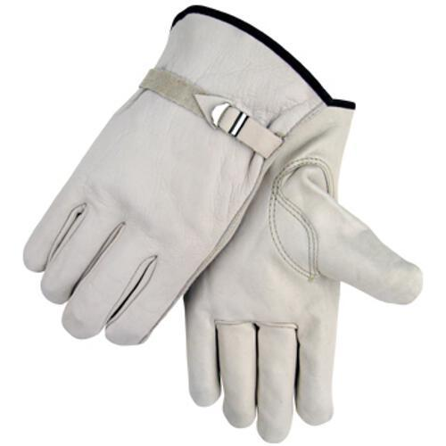 Black Stallion Grain Cowhide Driving Gloves - 96