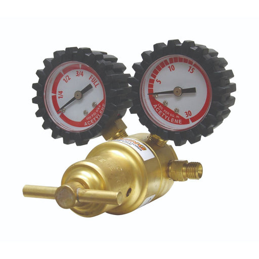 Uniweld Light/Med Duty Acetylene Regulator A-Conn CGA200 - RMC100