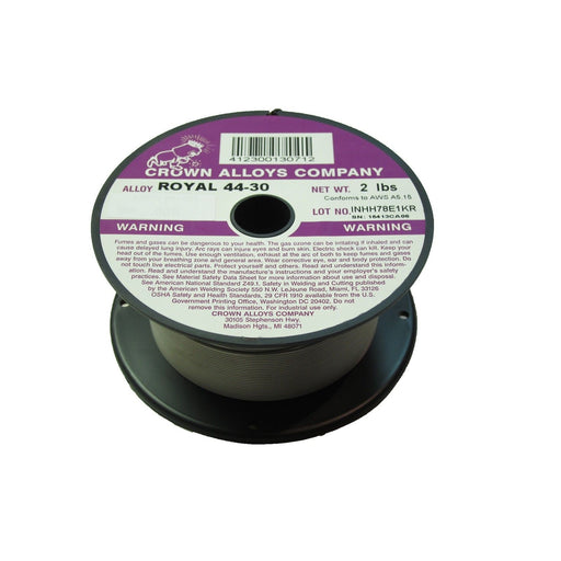 "Crown Alloys ROYAL 44-30 .045"" MIG Wire, 2# - RS44/1G"