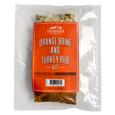 Traeger Turkey & Brine Rub Kit