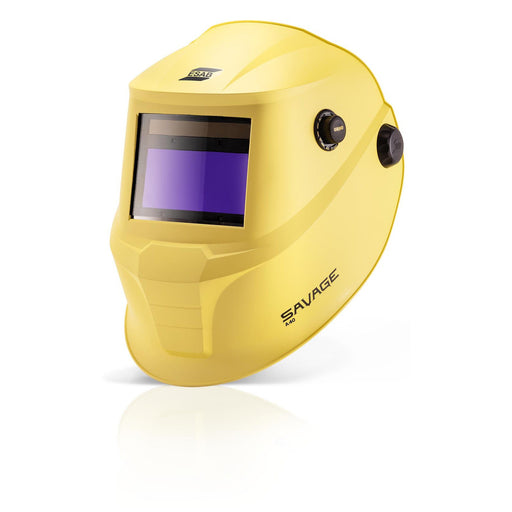 ESAB Savage A40 Yellow Welding Helmet premium optics at affordable price 0700000481