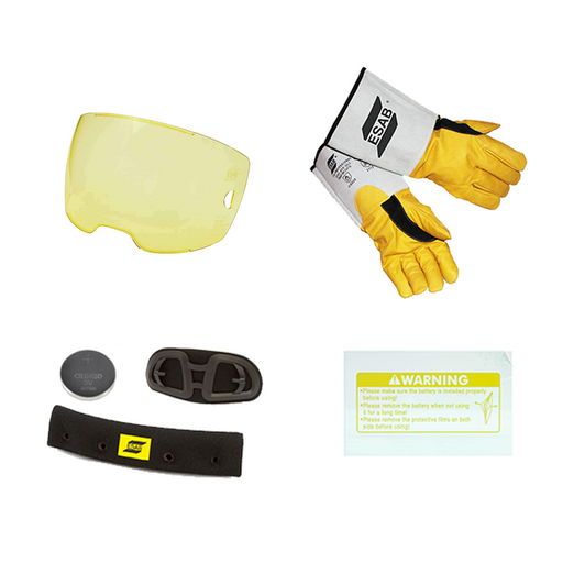 ESAB Sentinel Baker's Bundle with savings on lenses gloves and sweatbands