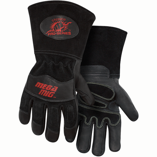 Steiner Pro-Series MegaMIG Heavyweight Goatskin Gloves - 0235