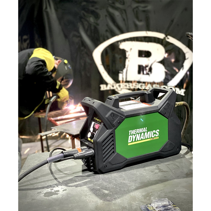 Baker's Gas Demo of Cutmaster 40 Plasma Cutter