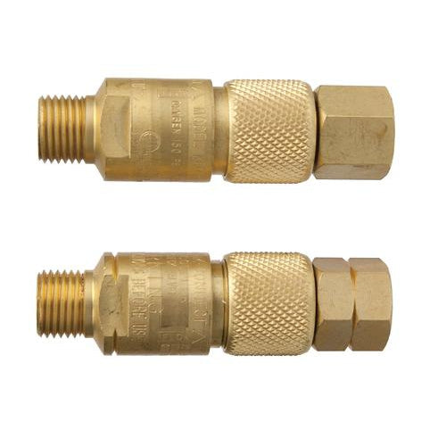 Victor Kwik-Connect Check Valve Pair - Torch to Hose