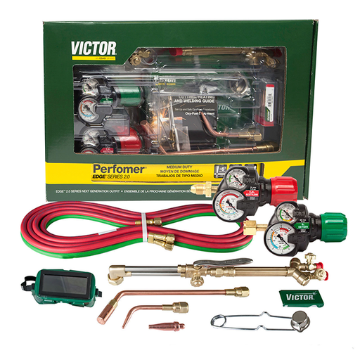 Victor Performer Kit 540/510 Edge 2.0 MD (Acetylene) CGA 510 - 0384-2125