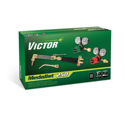 Victor Medalist 250 PPL MD Outfit 540/510LP G-250 Regs - 0384-2545