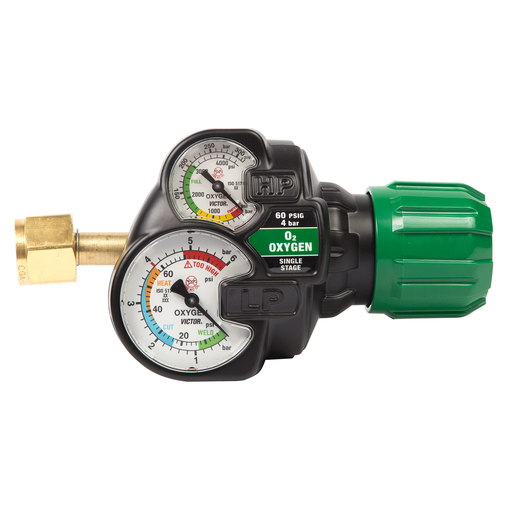 Victor Edge 2.0 Regulator- Oxygen (5-150PSI) - 0781-3601