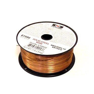 "Weldcote Metals ER70S-6 Mild Steel MIG Wire, .023"", 2# - E70S6023X2SP"