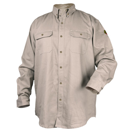 Black Stallion 7 oz. 88/12 Flame-Resistant Work Shirt - WF4010-ST