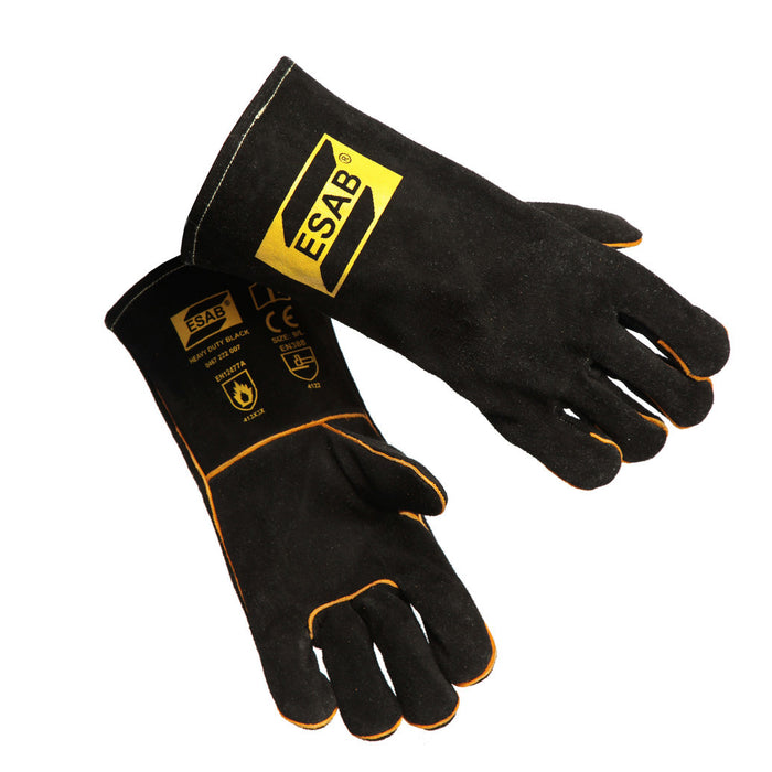 ESAB Weld Warrior Heavy Duty Black Welding Gloves - 0467222007