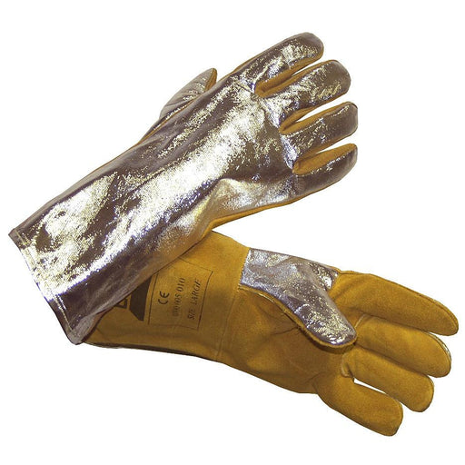 ESAB Weld Warrior Heavy Duty Aluminized Welding Gloves - 0700005010
