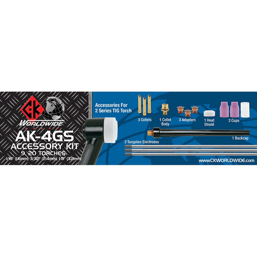 CK Worldwide 2 Series Gas Saver Kit, Small - AK-4GS