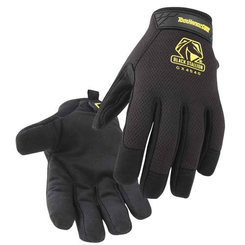 Black Stallion ToolHandz Core Synthetic Leather Palm Winter Mechanic's Gloves - GW4540-BK